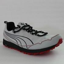 New Puma Faas 250 Trail Mens Grey Red Shoe Sneaker Tennis Size 11 Eur 44.5 Photo