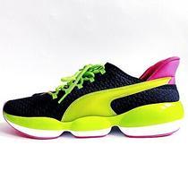 New Puma Mode Xt Training Sneakers Green Pink Black Size 10 Womens 192815-01 Photo