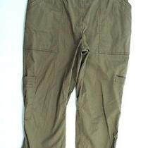 New Pure Dkny Womens  Beige Pants L Photo