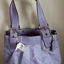 New Purple Coach Handbag Photo