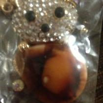 New Quality Swarovski Elements  Teddy Bear Key Chain Key Ring Photo