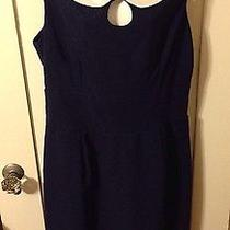 New Queen of Heartz Torrid Navy White Peter Pan Collar Jane Wiggle Dress 3x Photo