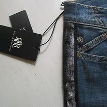 New r&r Skinny Embellished Blue Jeans Rock Republic Berlin Size 2 M Rt88 Photo