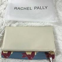 New Rachel Pally Reversible Clutch Purse in Bloom Yellow/mauve W/dust Bag  60 Photo