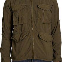 New Rag & Bone Men's Medium-Large Fatigue Green Newport Field Jacket M65 595 Photo