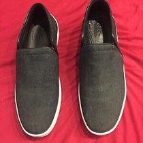 New Rag & Bone New York Women's Shoes Flats 41 Black Denim Photo
