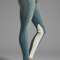 New Rag & Bone Sz24 Jeans Women Jodhpur Legging in Heathway W/lamb Leather 363 Photo