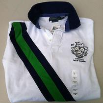 New Ralph Lauren Polo Mens Shirt L/s Golf Club Visitors Open Classic  Nwt 145 Photo