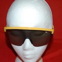 New Ralph Lauren Rlx  Sunglasses Ph4070x 5107-6g 144 130 3n - Yellow Scratchs Photo