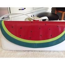 New Ramon Tenza Watermelon Fantasy Fruit Clutch Purse Biasia  Photo
