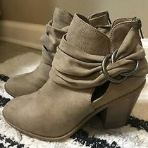 New Rampage Buckle Booties Size 8.5 Photo
