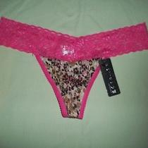 New Rampage Womens Thong Style Panties Size L Photo