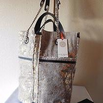 New Ramy Brook New York Maiya Shimmer Bucket Tote Handbag Purse Msrp 495.00 Photo