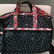 New Rare 116 Lesportsac Large Weekender Duffel Bag on the Dot Floral 2211 D246 Photo