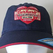 New Rare Carhartt Overalls Baseball Cap Hat