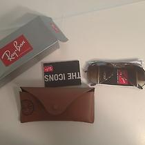 New Ray Ban Sunglasses Rb 3025 004/51  Rb3025 58mm Gunmetal/brown Gradient Lens Photo