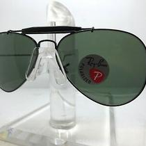 New Ray Ban Sunglasses Rb 3030 L9500 Outdoorsman Paddle 58mm Polarized Lens Photo