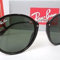 New Ray Ban Sunglasses Rb2447 901 Black Frame Green Lens G-15 Rb 2447 49m Photo