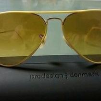 New Ray Ban Sunglasses Rb3025jm 001/x4 Yellow Frame Chrystal Yellow Lens 58 Mm Photo