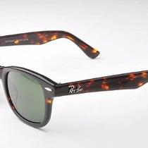 New Ray Ban Tortoise Wayfarer Sunglasses  Rb 2140 902 50mm Nwt 100% Authentic Photo