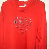 New Red American Hooded Sweatshirt  1x  Avon Photo