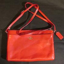 New Red Purse Handbag Coach Photo