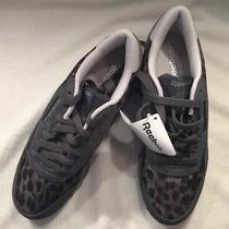 New Reebok Classic Shark Charcoal Gray Tennis Shoes Sneakers Women Size 8 Photo