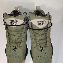New Reebok Snaqnosis v 61196 Men's Casual Shoes Cargo Green/black/khaki Us Sz 9 Photo