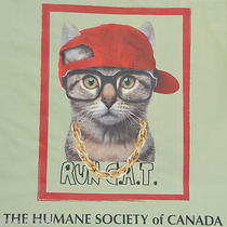 New Reusable Shopping Gift Bag Run c.a.t. Dmc Hip Hop Rap Cat Humane Society Photo