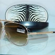 New   Roberto Cavalli Cercione 299s 28g Gold Aviator Sunglasses Size 62 Photo