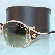 New   Roberto Cavalli Fresia 574s 28p Rose Gold & Havana Sunglasses Size 63 Photo