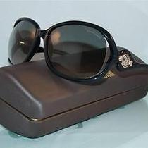 New   Roberto Cavalli Ixia 576s 01b Black  Original Case Sunglasses Size 62 Photo