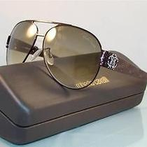 New   Roberto Cavalli Tanzanite 509s 48f Brown Aviator Sunglasses Size 60 Photo
