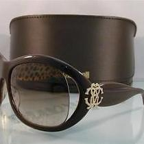 New   Roberto Cavalli Teutra 382s U17 Brown & Leopard Sunglasses Size 63 Photo
