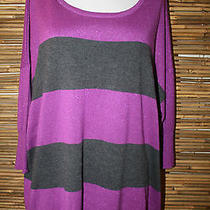 New Rock & Republic Purple Gray Sweater Xl Photo