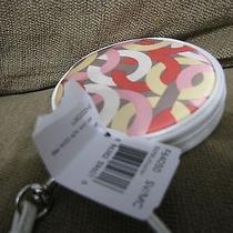 New Round Multicolored Coach Wristlet Photo