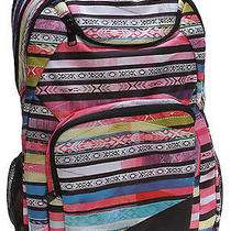 New Roxy Backpack Bookbag Shadow Swell Nwt Msrp 44 Photo