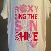 New Roxy Quicksilver Medium Girls Nwt Tshirt Sing the Sun Shine Photo