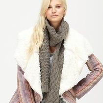 New Roxy Twinkle Cable Knit Long Scarf Nwt Msrp 26 Photo