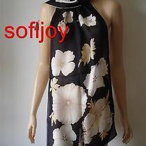 New Salvatore Ferragamo Silk Scarf Flower/bee/lady Bug 60