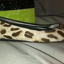 New Sam Edelman Jordie Animal Print Ballet Flat Size 7.5 Photo