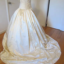 New Sample Bridal Wedding Gown Dress Amsale Size10 Classic  Photo