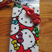 New Sanrio Hello Kitty Cell Wallet Holds Phone and Money ) Photo