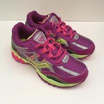 New Saucony Excursion Berry/silver Girls Athletic Shoes Size 13w Photo
