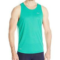 New Saucony Mens Hydralite Singlet  Clover  Large Photo