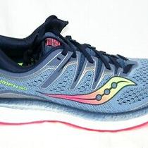 New Saucony S10462-1 Triumph Iso 5 Running Shoes Women's Size 8.5 Blue/navy Photo