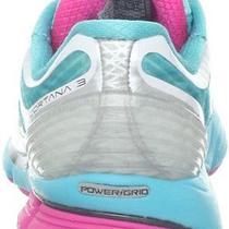 New Saucony Women's Cortana 3 Running Shoe - White/blue/pink - Size 8.5 Photo