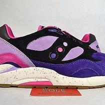 New Saucony X Feature G9 Shadow 6 High Roller Pack Barney Sz Us12 Uk11 Photo