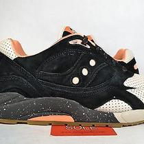 New Saucony X Feature G9 Shadow 6 High Roller Pack Black Sz Us12 Uk11 Photo