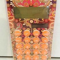 New & Sealed Vera Bradley Safari Sunset Calculator- Great Gift Photo